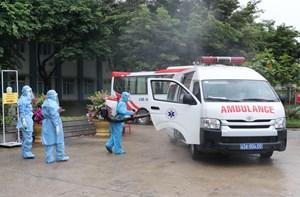 Cận cảnh bệnh viện dã chiến đầu tiên tại thành phố Đà Nẵng