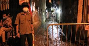 Hà Nội: Phong tỏa, cách ly con ngõ nơi bệnh nhân 714 sinh sống