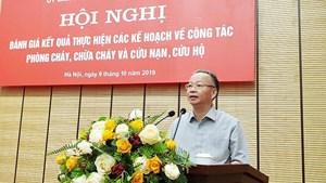 Phó Chủ tịch Thường trực Nguyễn Văn Sửu điều hành UBND TP Hà Nội