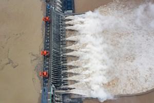 Lượng nước đổ về kỷ lục, đập Tam Hiệp mở 11 cửa xả lũ