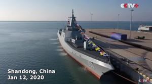 Trung Quốc chuẩn bị hạ thủy tàu Khu trục Type 055 cuối cùng