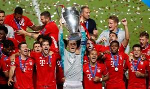 Bayern Munich lần thứ 6 lên ngôi vô địch Champions League