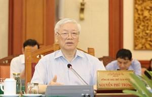 Tổng Bí thư, Chủ tịch nước muốn TP HCM là mẫu mực về chuẩn bị đại hội