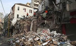 Phát hiện dấu hiệu sự sống dưới đống đổ nát vụ nổ kinh hoàng Beirut