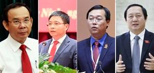 Nhân sự giới thiệu bầu Bí thư TP HCM, Điện Biên, Đồng Tháp và Bộ trưởng Bộ KH&CN