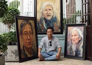 Họa sĩ Trần Thế Vĩnh: Nghệ thuật là sự biến thiên không ngừng