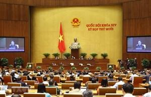 Quốc hội phê chuẩn bổ nhiệm 3 Thẩm phán Tòa án nhân dân tối cao