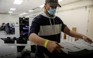 Bầu cử Mỹ: Thông số kiểm phiếu tính đến 11h ngày 13/11