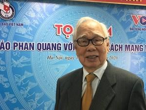 Nhà báo Phan Quang: Một trí thức dấn thân