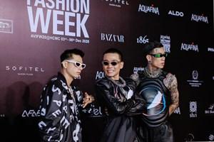 Dàn sao Rap Việt cực 'chất' 'đột kích' thảm đỏ thời trang