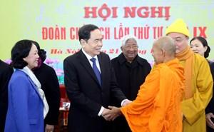 [ẢNH] Khai mạc Hội nghị Đoàn Chủ tịch UBTƯ MTTQ Việt Nam lần thứ tư khóa IX
