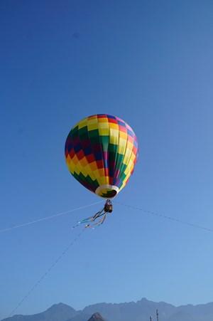 Một Lai Châu thật khác khi bay với khinh khí cầu