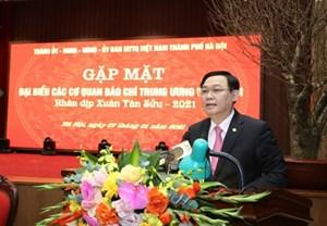 Hà Nội sẽ xây dựng 'ngôi nhà chung' cho báo chí Trung ương và thành phố