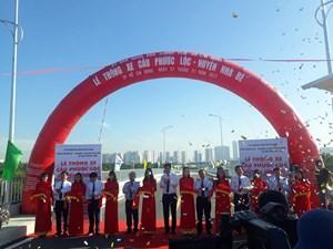 TP HCM: Khánh thành cầu Phước Lộc