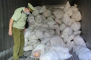 Phát hiện 16 tấn thịt gia cầm đã bốc mùi