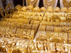 Giá vàng trong nước ổn định, giá vàng thế giới giảm nhẹ