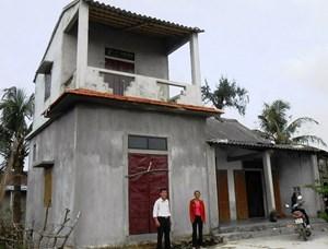 Quảng Bình: Hỗ trợ kinh phí xây dựng nhà phòng tránh bão lũ