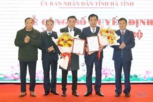 Sở Y tế Hà Tĩnh có thêm 2 Phó Giám đốc