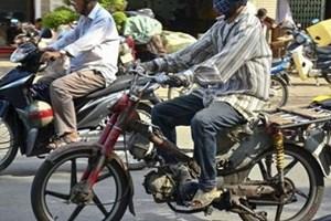 Thu hồi xe máy cũ nát để kiểm soát khí thải: Cần lộ trình, hướng giải quyết phù hợp