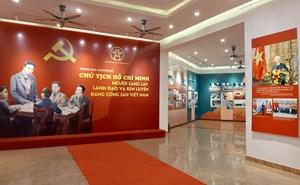 'Chủ tịch Hồ Chí Minh - Người sáng lập, lãnh đạo và rèn luyện Đảng Cộng sản Việt Nam'