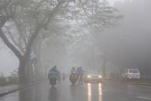 Hà Nội: Sáng sớm và đêm có mưa phùn và sương mù, trời rét