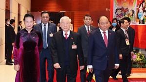 Đại hội đại biểu toàn quốc lần thứ XIII của Đảng: 'Đoàn kết - Dân chủ - Kỷ cương - Sáng tạo - Phát triển'
