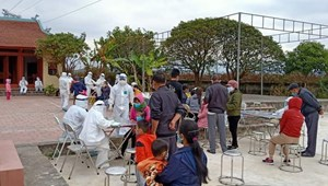 Không bỏ sót ca nhiễmvà nghi nhiễm trong cộng đồng