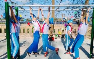 Thừa Thiên - Huế: Khánh thành sân chơi rèn luyện thể chất cho trẻ em