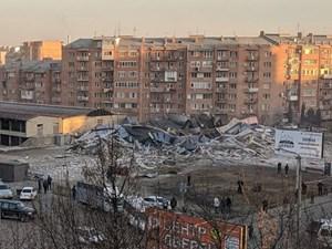 Nga: Một vụ nổ lớn phá hủy siêu thị khiến nhiều người bị thương