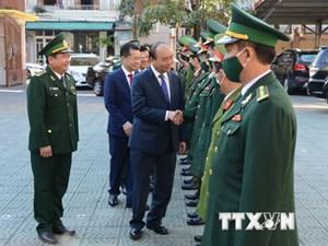 [ẢNH] Thủ tướng Nguyễn Xuân Phúc thăm, chúc Tết Tân Sửu tại Đà Nẵng
