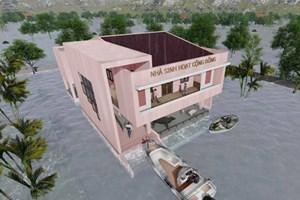 Thủy Tiên xây 10 nhà cộng đồng chống lũ