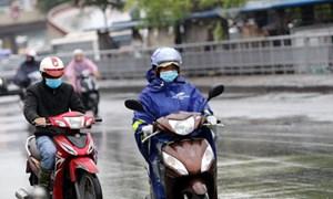 Hà Nội tiếp tục mưa rét do không khí lạnh tăng cường