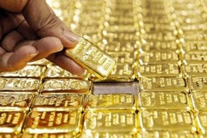 Giá vàng về dưới mốc 56 triệu đồng/lượng