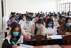 Sinh viên phải khai báo y tế trung thực, nếu không sẽ bị trường kỷ luật