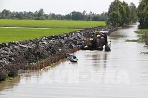 Từ cuối tháng 3, các đợt xâm nhập mặn ở Nam Bộ tăng cao