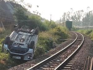 Làm rõ trách nhiệm gác chắn trong vụ tàu hỏa đâm ô tô ở Quảng Ngãi