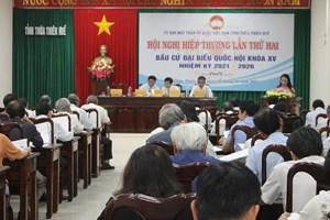 Thống nhất danh sách sơ bộ ứng cử viên Quốc hội và HĐND tỉnh Thừa Thiên - Huế