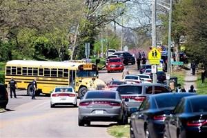 Mỹ: Lại xả súng trong trường học