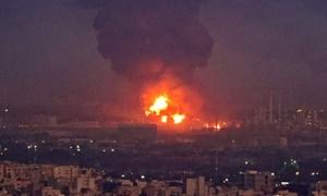 Iran: Cháy nhà máy lọc dầu Tondguyan