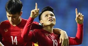 Quang Hải: 'HLV Park Hang Seo đã giúp tuyển Việt Nam chơi tốt ở hiệp hai'