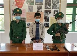 Điện Biên: Bắt quả tang đối tượng tàng trữ 1 kg thuốc phiện