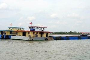 TP Hồ Chí Minh: Phát hiện vụ vận chuyển cát trái phép