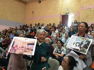 Người dân bày tỏ nguyện vọng về giải quyết khiếu nại ở Thủ Thiêm