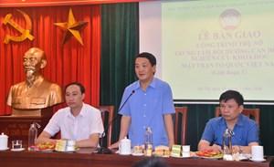 BẢN TIN MẶT TRẬN:Bàn giao công trình trụ sở Trung tâm bồi dưỡng cán bộ MTTQ Việt Nam