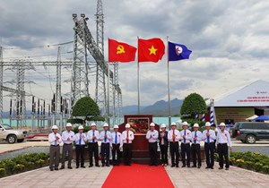 Hoàn thành trạm biến áp 220 kV Ninh Phước và đấu nối trước 6 tháng