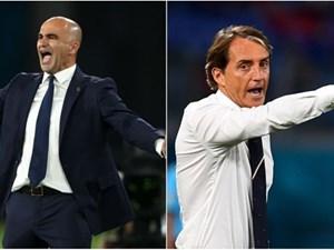 Tứ kết Bỉ-Italy: Cuộc tái đấu sau 3.000 ngày giữa Martinez-Mancini