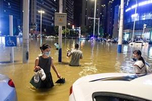 Lũ lụt nghiêm trọng ở Trung Quốc