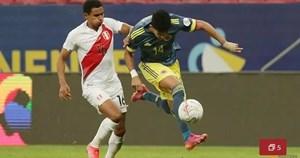 Colombia chiến thắng nghẹt thở Peru ở trận tranh hạng ba Copa America