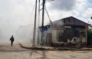Ninh Bình: Cháy lớn tại khu vui chơi giải trí hiện đại