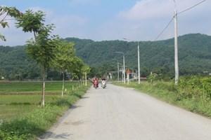 Sấu Thượng (Hòa Bình): Xây dựng khu dân cư nông thôn mới kiểu mẫu